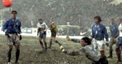 spareggi mondiali italia russia 1997